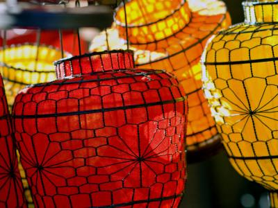 Lanterns at Sunday Market