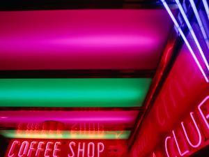 Neon Lights, Reno, Nevada, USA by Ray Laskowitz
