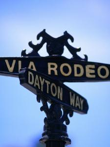 Rodeo Drive and Dayton Way in Beverly Hills, Los Angeles, California by Ray Laskowitz
