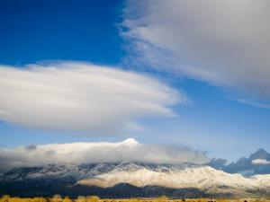 Sandia Mountains Which Form the Eastern Boundary of Albuquerque by Ray Laskowitz