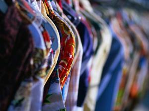 Second Hand Shirts for Sale from Shop on Melrose Avenue, Los Angeles, California, USA by Ray Laskowitz