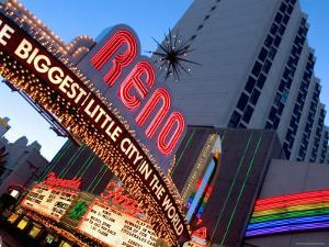 The Biggest Little City in the World Sign, Reno, Nevada by Ray Laskowitz