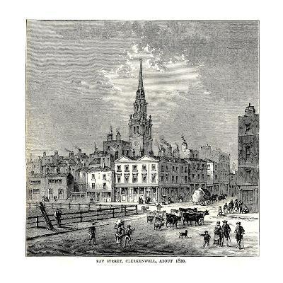 Ray Street, 1820--Giclee Print