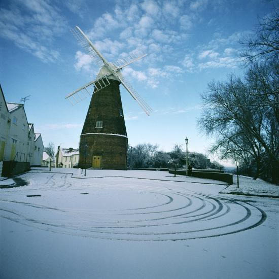 Rayleigh Windmill, Essex--Photographic Print