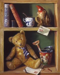 Ted and Friends II by Raymond Campbell