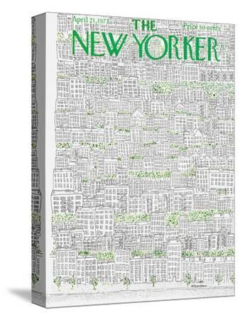 The New Yorker Cover - April 21, 1973