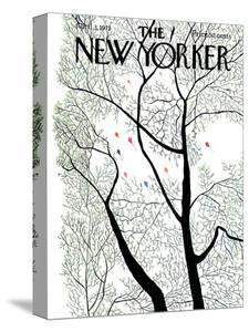 The New Yorker Cover - April 3, 1971 by Raymond Davidson