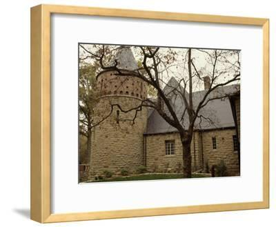A Stone Building on the Ground of Audubon State Park
