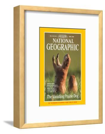 Cover of the April, 1998 National Geographic Magazine