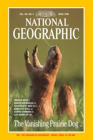 Cover of the April, 1998 National Geographic Magazine by Raymond Gehman