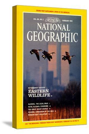 Cover of the February, 1992 National Geographic Magazine