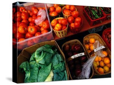 Farm Produce at a Local Farmers Market