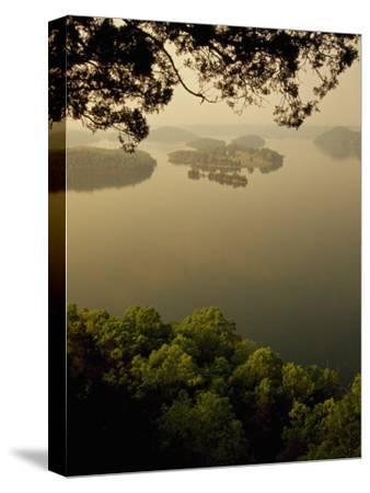 Foggy Sunrise over Dale Hollow Lake