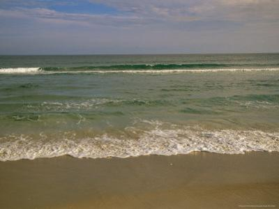 Incoming Atlantic Ocean Tide on the Cape Lookout National Seashore by Raymond Gehman