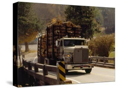 Logs are Hauled Out of Jefferson National Forest