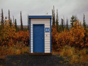 Outhouse in the Bush by Raymond Gehman