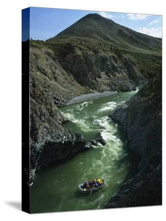 Rafters Come Safely Through Rapids Near Sheep Creek