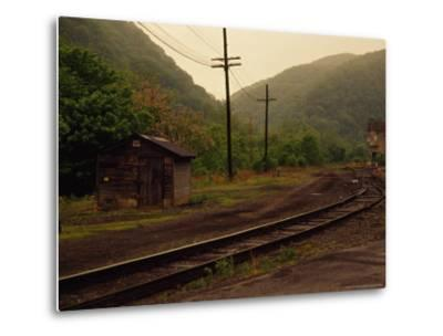 Railroad Through the Old Town of Thurmond, West Virginia