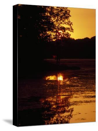 Sunset over Hematite Lake