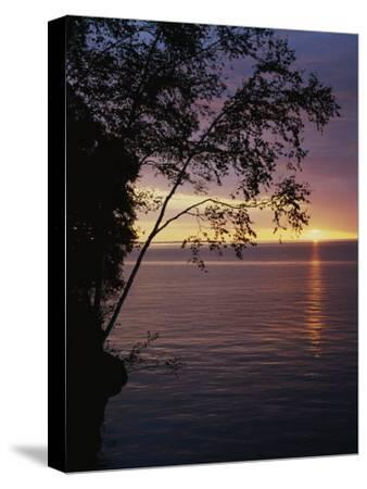 The Sun Sets on Lake Superior in the Apostle Islands