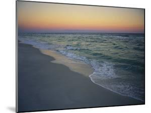 Twilight on a Peaceful Ocean Beach by Raymond Gehman