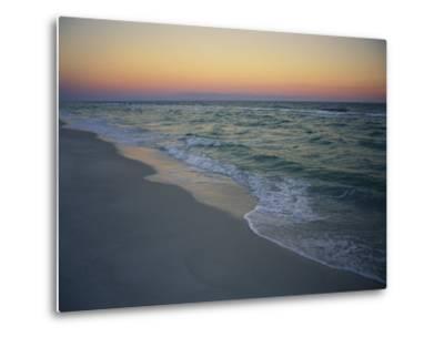 Twilight on a Peaceful Ocean Beach