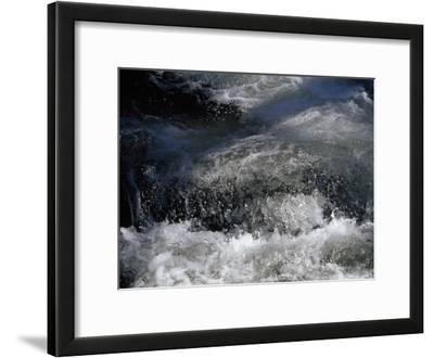 Water Burbling and Frothing Through the Nantahala River Gorge