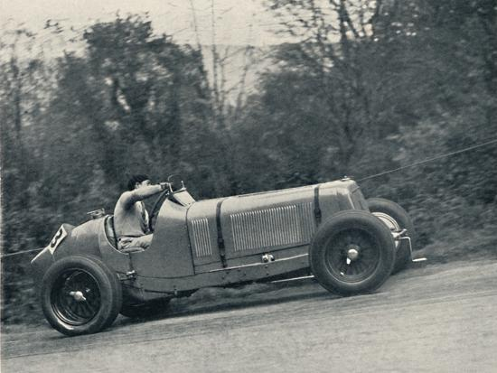 'Raymond Mays (E.R.A.) breaking the record, 1935; the Shelsey Walsh Hill Climb', 1937-Unknown-Photographic Print