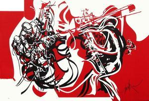 Jazz - Contrebassistes by Raymond Moretti