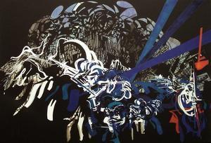 Jazz - Thelonius Monk by Raymond Moretti