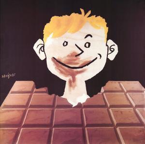 Chocolat by Raymond Savignac