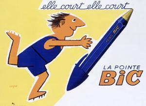 La Pointe Bic by Raymond Savignac