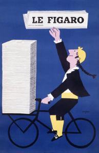 Le Figaro by Raymond Savignac