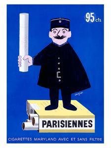 Parisiennes Cigarettes by Raymond Savignac