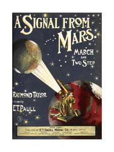 A Signal From Mars by Raymond Taylor