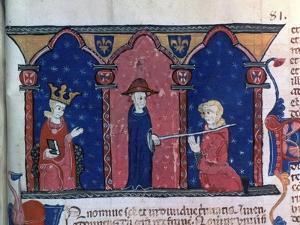 Raymond VII Receives Absolution