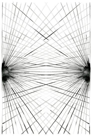 Rays III-Grace Popp-Art Print