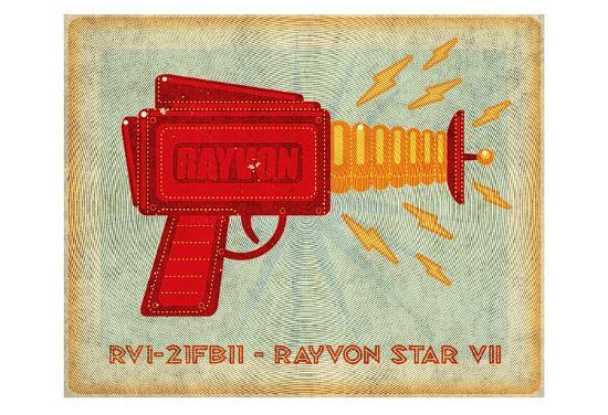Rayvon Star VII-John Golden-Art Print