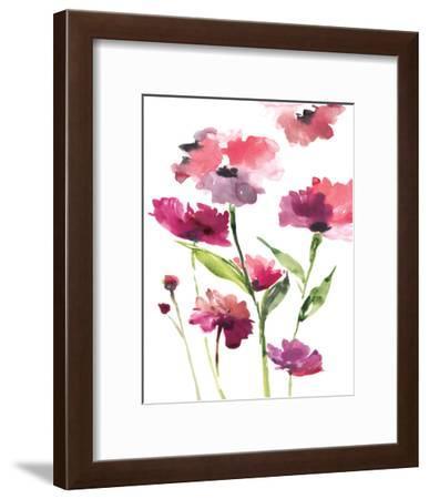 Razzleberry Blossoms-Rebecca Meyers-Framed Art Print