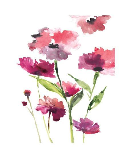 Razzleberry Blossoms-Rebecca Meyers-Giclee Print