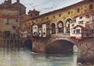 Florence, Ponte Vecchio by RC Goff