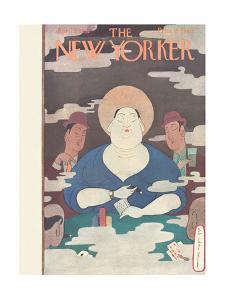The New Yorker Cover - April 5, 1930 by Rea Irvin