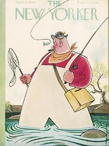 The New Yorker Cover - April 6, 1940 by Rea Irvin