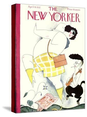 The New Yorker Cover - April 9, 1932