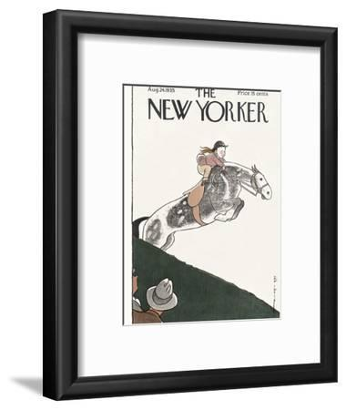 The New Yorker Cover - August 24, 1935 by Rea Irvin