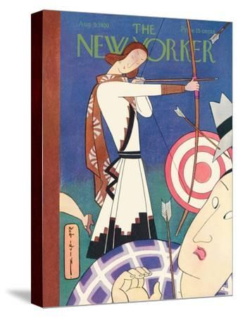 The New Yorker Cover - August 9, 1930