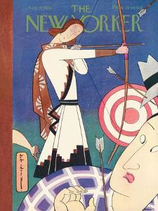 The New Yorker Cover - August 9, 1930 by Rea Irvin