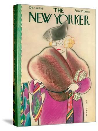 The New Yorker Cover - December 16, 1933