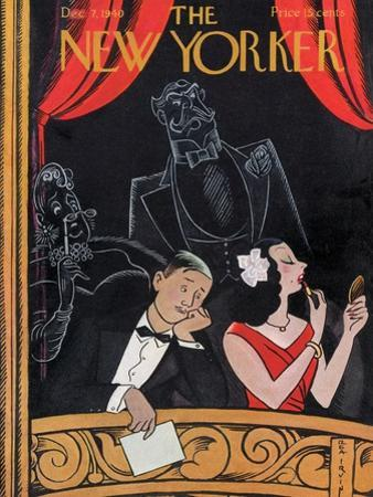 The New Yorker Cover - December 7, 1940 by Rea Irvin