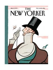 The New Yorker Cover - February 14, 2011 by Rea Irvin